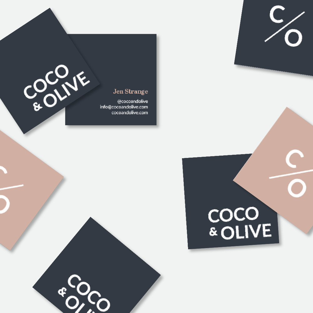 Salt Design Co. Coco and Olive Branding