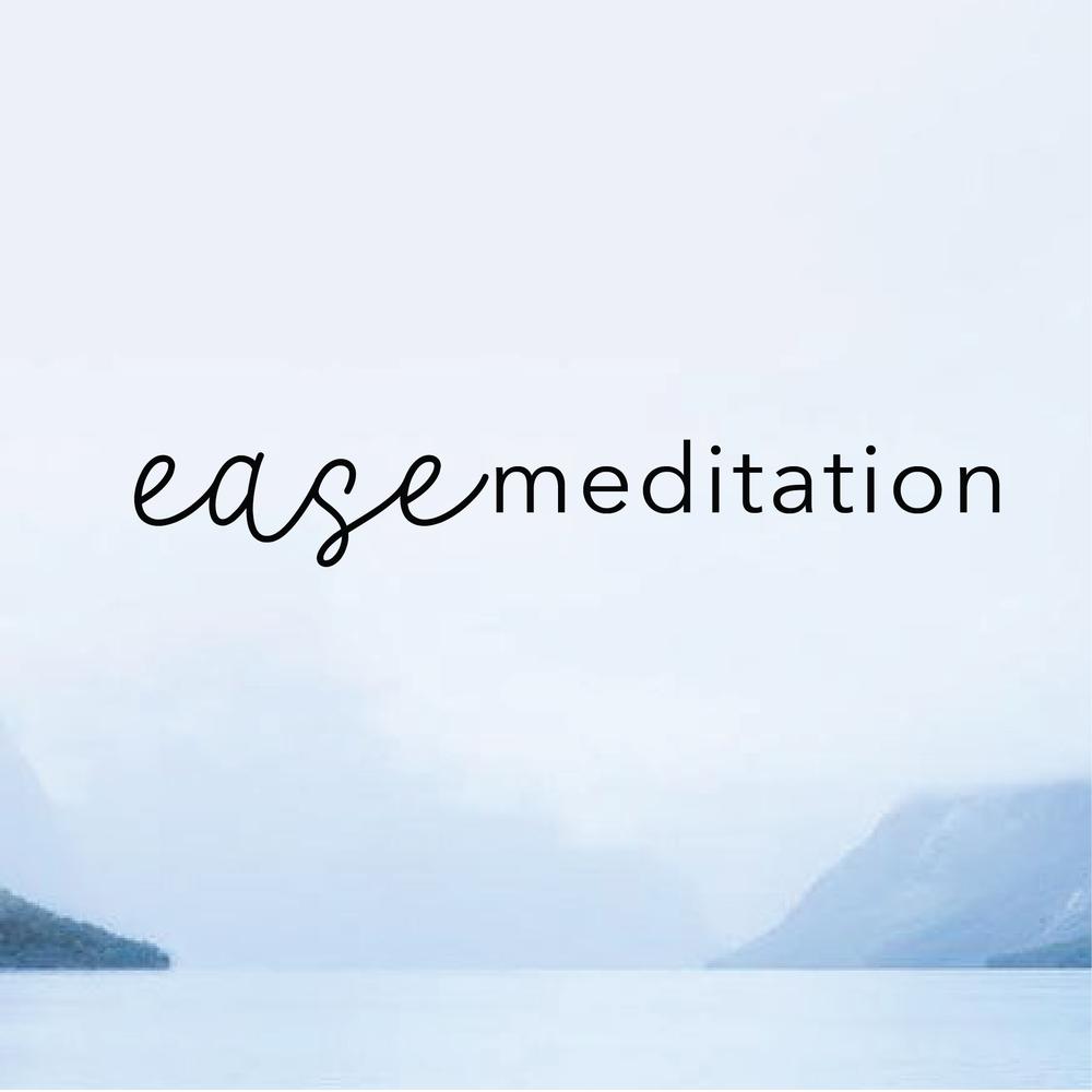 Brand Identity for Ease Meditation by Salt Design Co.