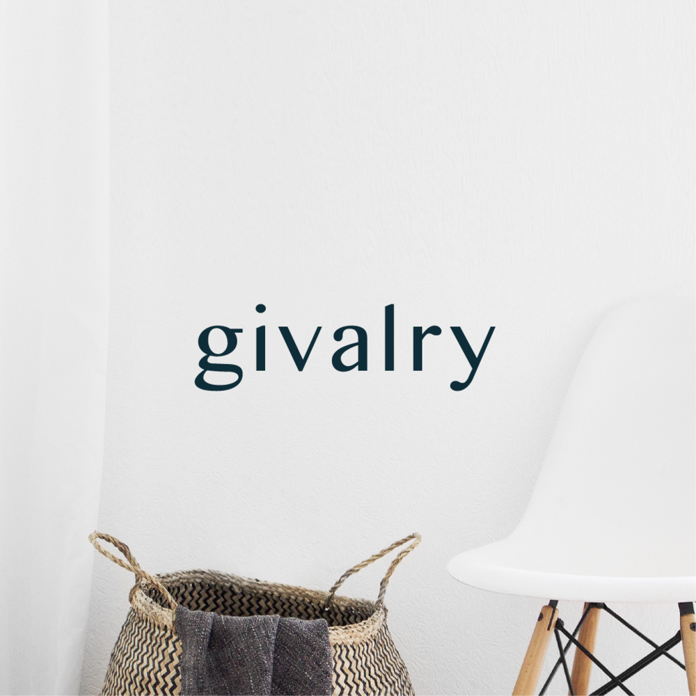 Givalry brand design by Salt Design Co.