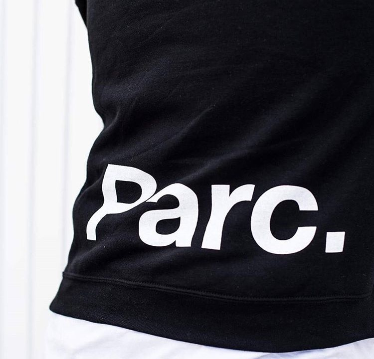 Logo design for Streetwear brand Parc Clothing by Salt Design Co in Vancouver BC