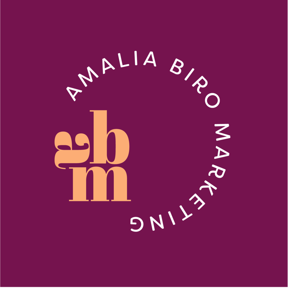 Amalia Biro Marketing Brand Identity design by Salt Design Co. in Vancouver BC