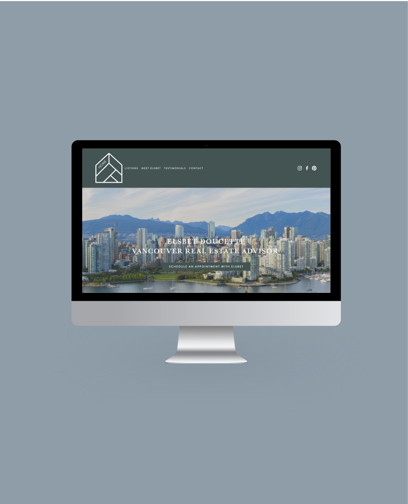 Real Estate Agent Web Development and Training by Salt Design Co in Vancouver BC
