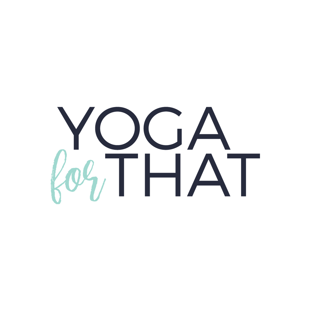Brand and web design for Yoga For That by Salt Design Co. in Vancouver BC