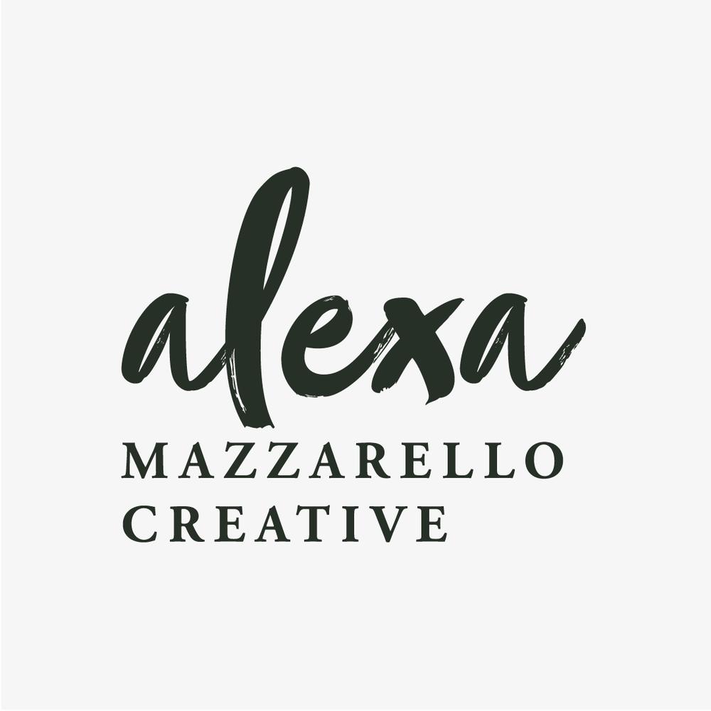 Photography Brand Identity for Alexa Mazzarello Creative by Salt Design Co.
