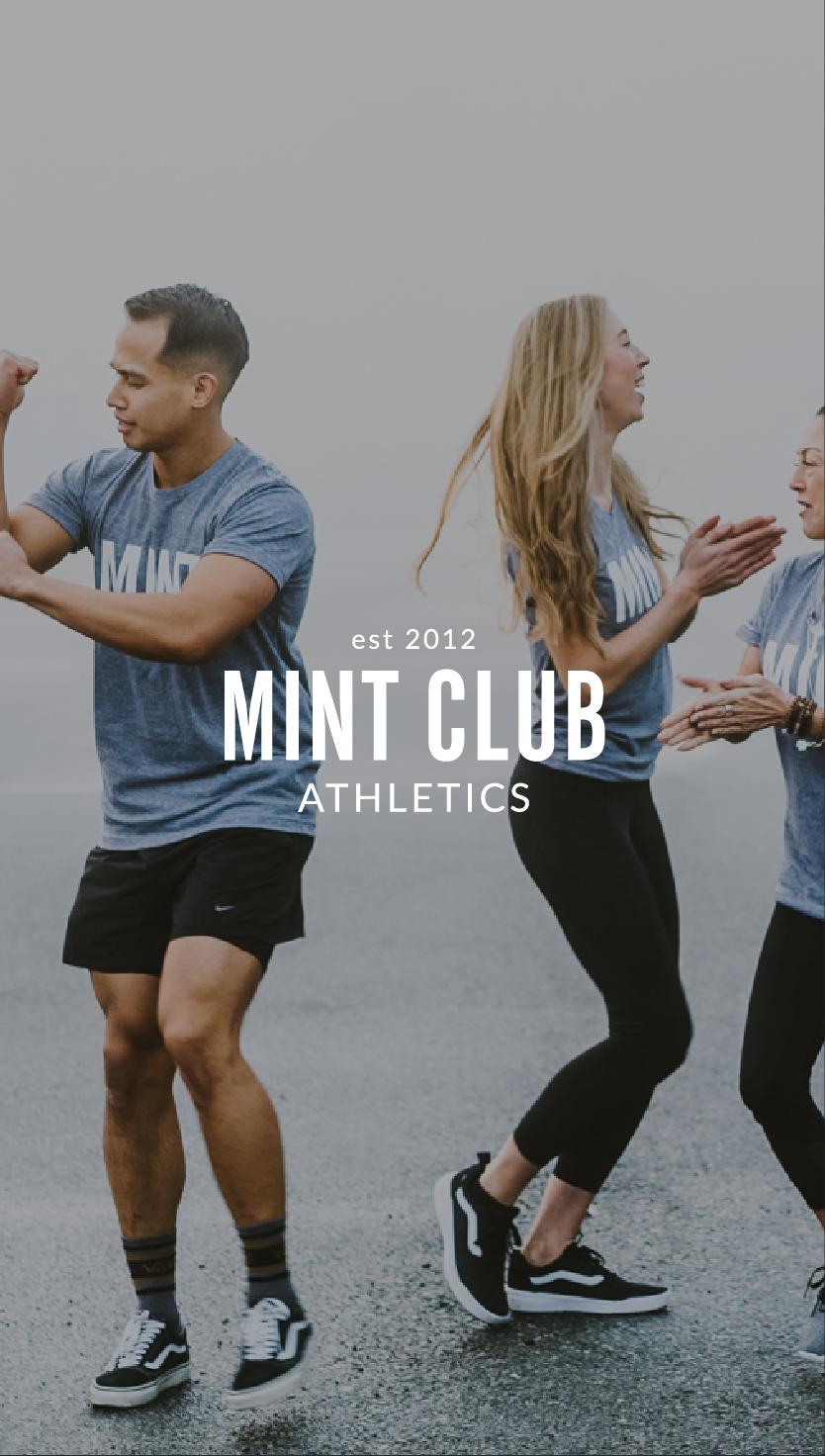 Mint Club Athletics Brand Design Portfolio by Salt Design Co.