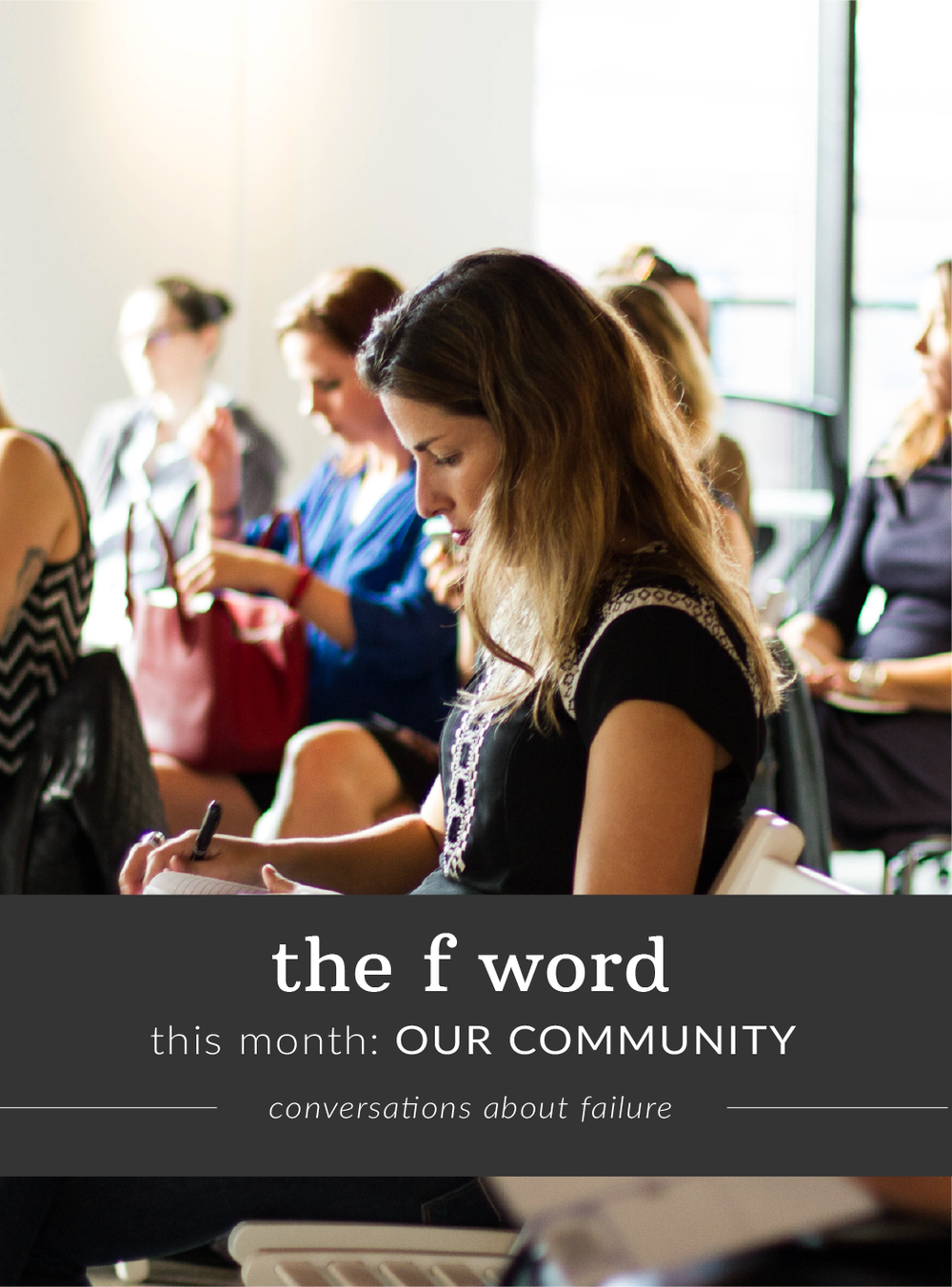 Final thoughts in the f-word interview series from our community
