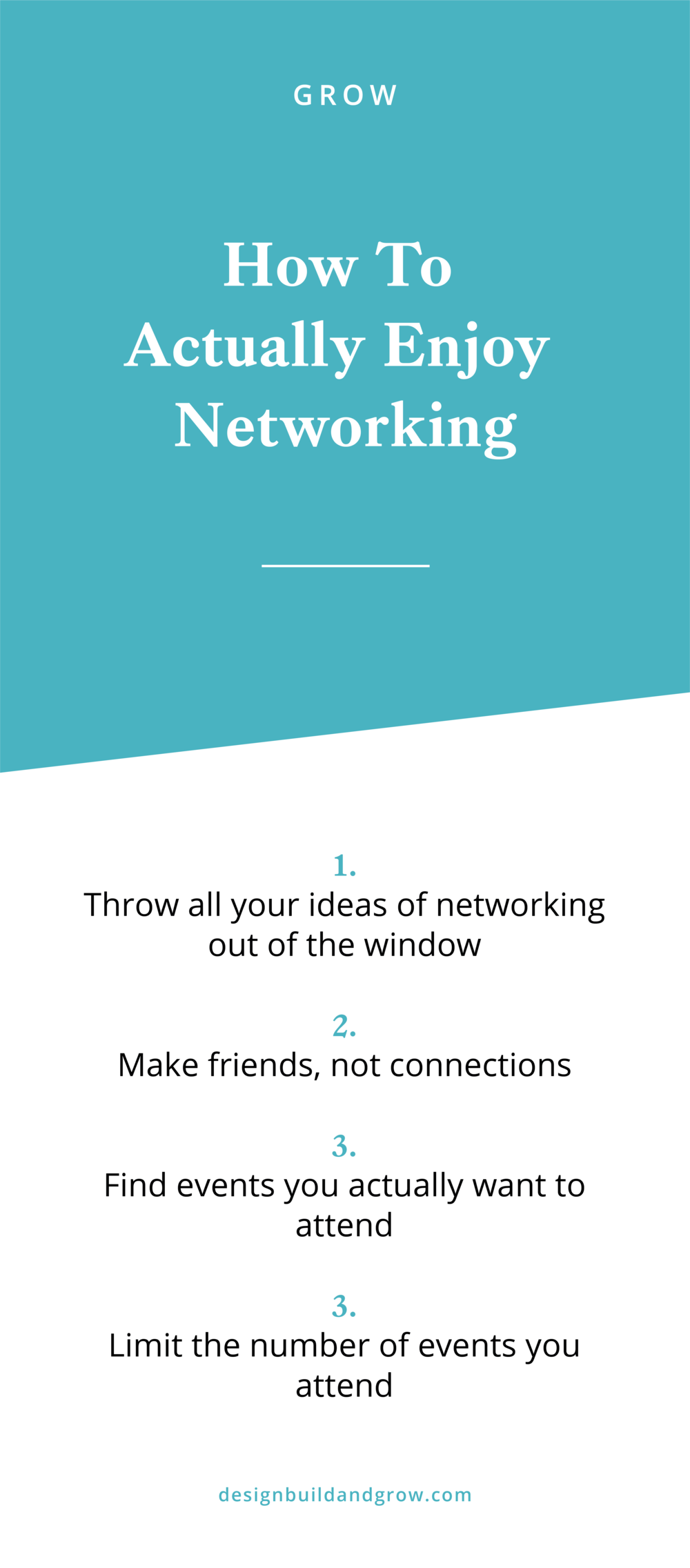 how to actually enjoy networking and not feel nervous or shy or awkward