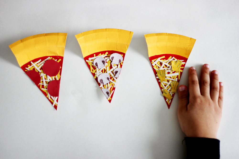 Paper Plate Pizza Garland — All Kids Are Gifted