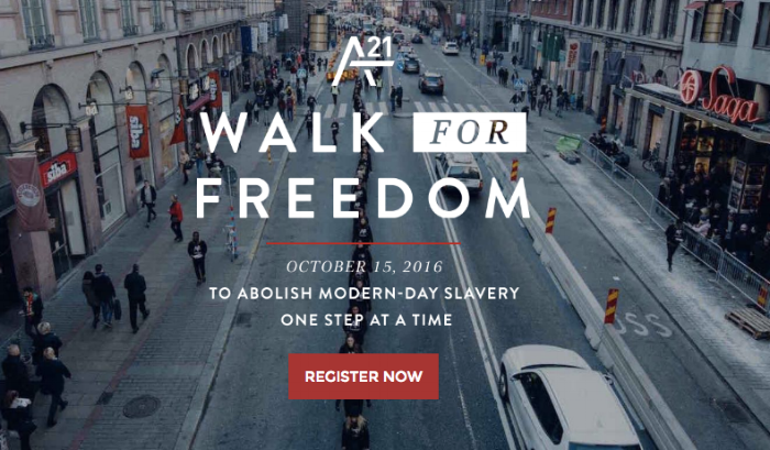 PARTNERSHIPS - A21 - Walkforfreedom2016