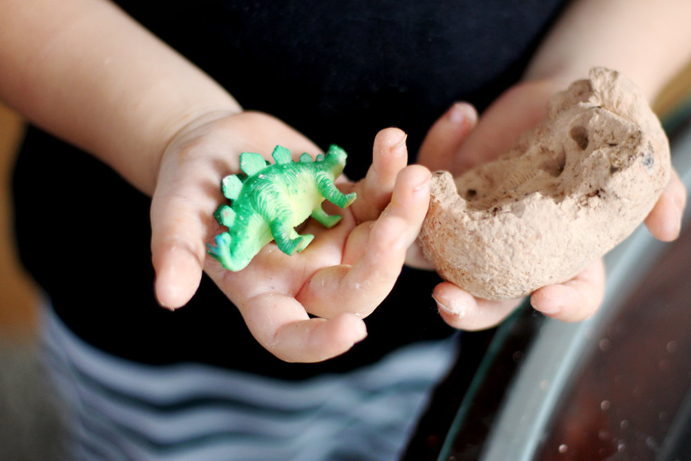 DIY Projects - DINOS IN THE FALL - All Kids Are Gifted