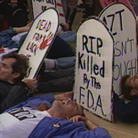 UNITED IN ANGER: A HISTORY OF ACT-UP (Jim Hubbard, 2012).  Duke's at Komedia  18/02/13