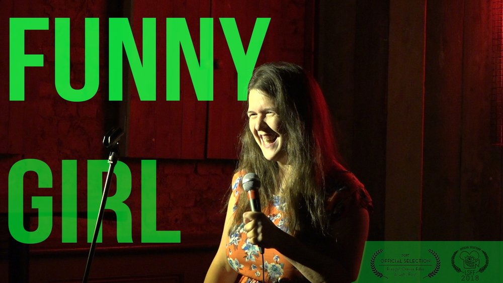 Funny Girl - Dir. Rosina Andreaou | 2017 UK | 6'10Exploring the on and offstage comedy of Rosie Jones, this documentary questions stereotypes about disability, sexuality, and being a Northerner.f: @rosina.andreou @rosiejonescomedian | t: @RosinaAndreou @josierones | i: @rosinaandreou @josierones