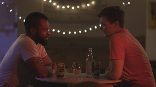 Push Pink - Director: Kai Tillman | USA | 2017 | 9 minutesA trans person's conflict using the public restroom leads him on a journey to answer some unresolved questions.Content note: alcohol.