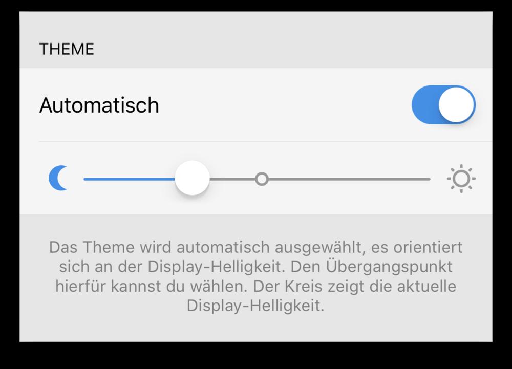 Automatische Theme-Auswahl in Tweetbot
