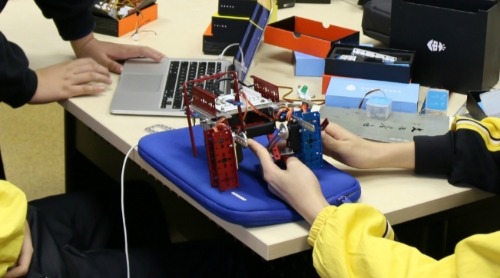 Learn to build your own robots.