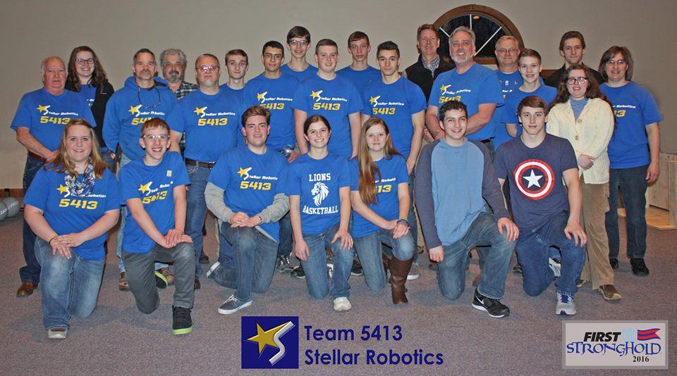Team 5413 Stellar Robotics