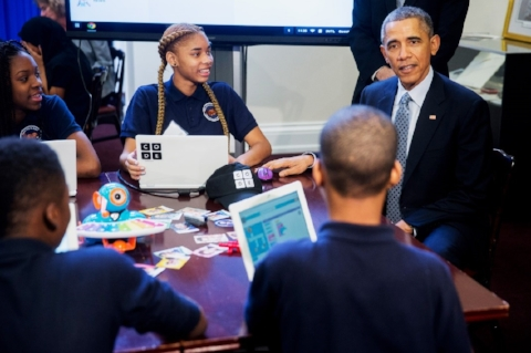 "Obama's STEM Education Initiative: ""Computer Science for All"""