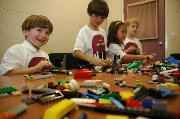Legos are a great way to get kids interested in building with their hands, but have a limited shelf-life.