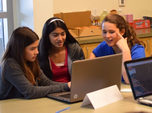 STEM classes aim to get students, especially underrepresented groups such as females and minorities, interested in advanced fields.