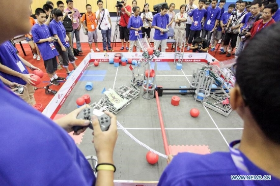 High school robotics clubs prepare students for competitions and colleges alike