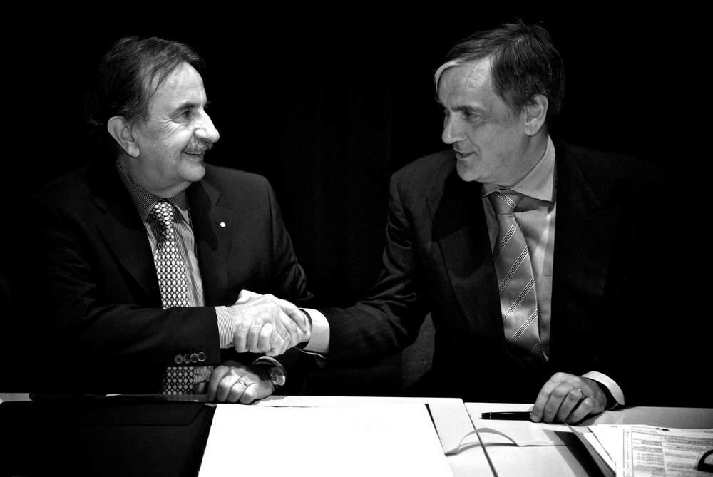 Giorgio Giudici and Gabriele Gendotti