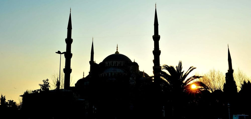 The Blue mosque...