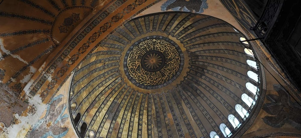 Arayasofya, the dome