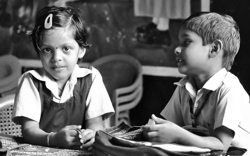 Classroom, chatting