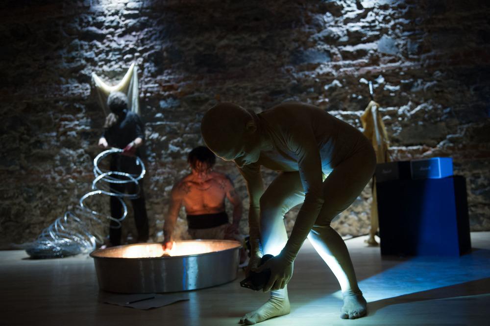 Verena Stenke, Andrea Pagnes in Transient Bodies