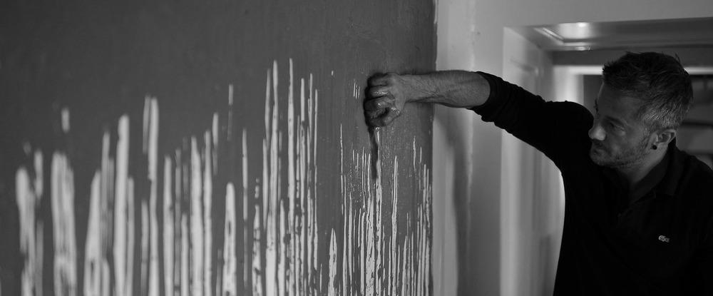 Zed Taylor, sponge painting