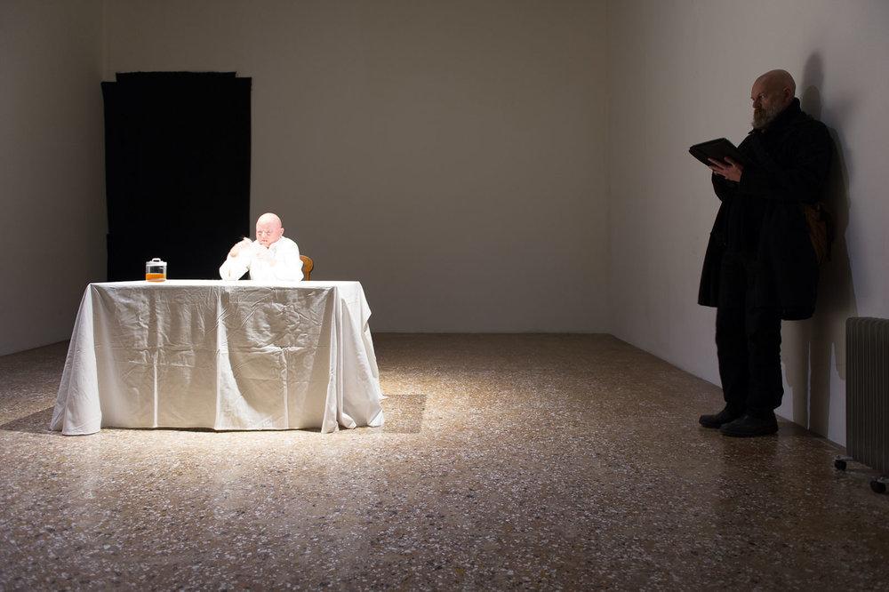 Nicola Fornoni & painter Davide dalla Venezia