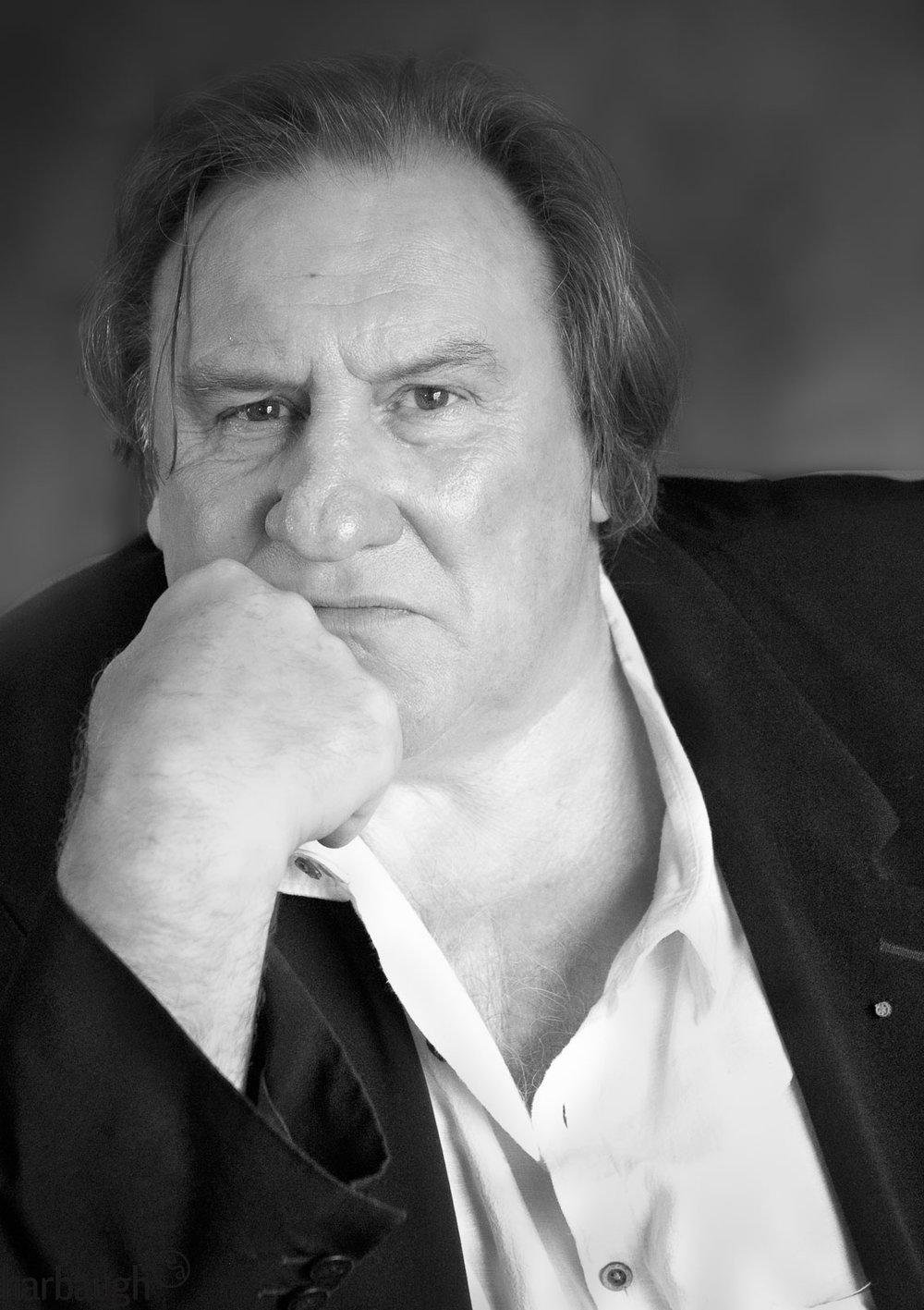 Gérard Depardieu, acteur, gastronome