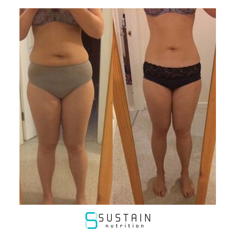 SAM - I came across Sustain on social media after completing another plan. For as long as I can remember I've been 'losing weight', having tried a numerous amount of quick fixes and plans that claimed to re-educate but here I was 9 months after finishing my last plan back at the same weight as my start weight. I learnt that I can follow instructions and have the discipline not to stray from what I'm told to do but when I had to go it alone I was clueless and went back to eating how I did before I started.I was umming and ahhing about signing up to 'another plan' but Sustain did offer something new and the chance to try it out for 7 days gave me the opportunity to see if it was right for me. It definitely was and half way through the trial I signed up for 3 months. I can honestly say it is the best thing I have ever done. In 3 months I lost 13.3lbs, 3.5 inches off my waist and 2 inches off my hips, with minimal exercise and I feel amazing! I am eating delicious, healthy food. I haven't weighed, measured or counted one calorie and it has been liberating. But the best part for me has to be the daily accountability. Joe has been absolutely fantastic and certainly helped keep me on the straight and narrow! I truly feel that Sustain has re-educated me, I know what foods work for my body and this is me for life now, no way am I going back. I feel amazing in my clothes but more importantly feel amazing in my own skin! Cannot thanks the guys at Sustain enough!! Looking forward to seeing what the next 3 months can bring!