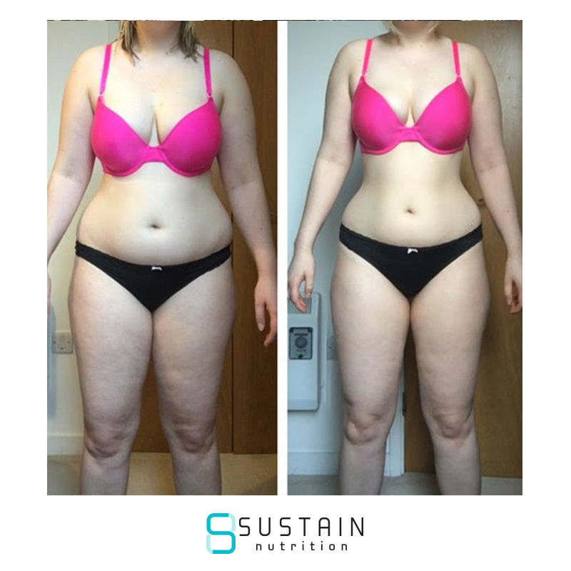 Hayley - I have really enjoyed the last 12 weeks with Sustain! It has honestly been the easiest thing I have ever done. I have been dieting on and off for years, only for the weight to return every time with binge eating. But when I found Sustain, it was really simple.No dieting, just eating nutritious food and staying hydrated! There's no complicated meal plans to follow and you are free to make your own decisions (hopefully good!) - so very easy to fit into your own way of life.The support and advice from Joe M has been incredible. I was given great feedback every single day, and I wasn't made to feel bad when I had the odd slip up! But you are taught to take responsibility and be accountable for your journey! Also Sustain gives you great encouragement and guidance with exercising, whether you're a newbie or a pro.Other plans have left me obsessive about when to eat carbs, weighing different food groups and worrying about how many carbs are in certain vegetables - it was exhausting and I would always give up. But Sustain teaches you to treat your mind and body well and break bad habits, making the rest just fall into place.I feel far more confident now about my nutrition for the future!'