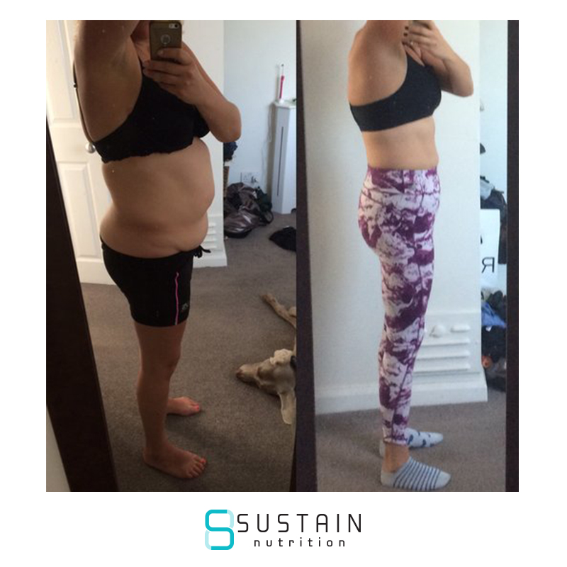 Rebecca - I absolutely love Sustain Nutrition's plan! I feel full of energy, I'm in control of my choices around food and my mental clarity has improved massively.The accountability is key and I'm continually being educated about nutrition through daily coaching by James, who is down to earth and explains things in a way which make complete sense.I don't feel deprived or that I'm 'on a diet' because I really enjoy the food I'm eating and still have regular meals out or the occasional drink. You can tailor this plan to be whatever you want it be or however you want it to fit your lifestyle. All I can say is, if you're toying with starting the plan, DO IT!!! You've got nothing to lose except bodyfat.