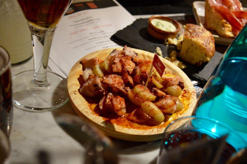 tapas_revolution_omar_Allibhoy_spanish_food_octopus_what_to_eat_in_newcastle_Dacia_magic_weekend_elle_blonde_luxury_lifestyle_blog