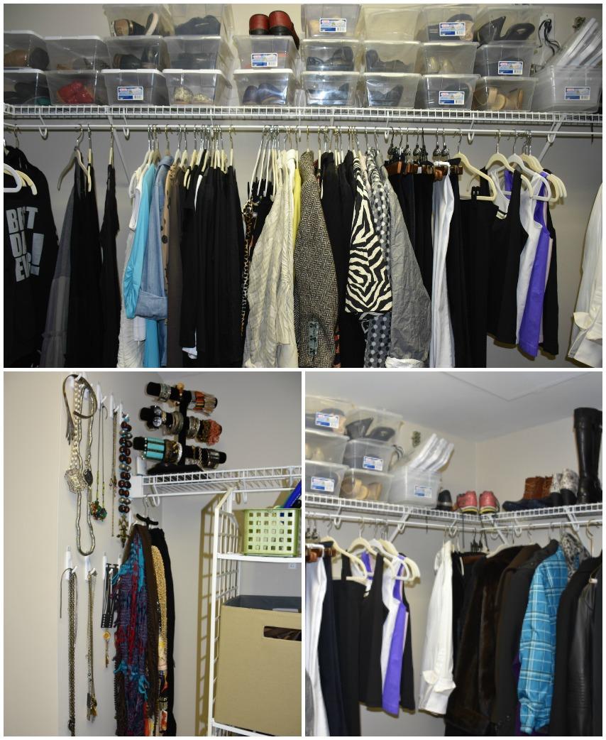 Closet afters