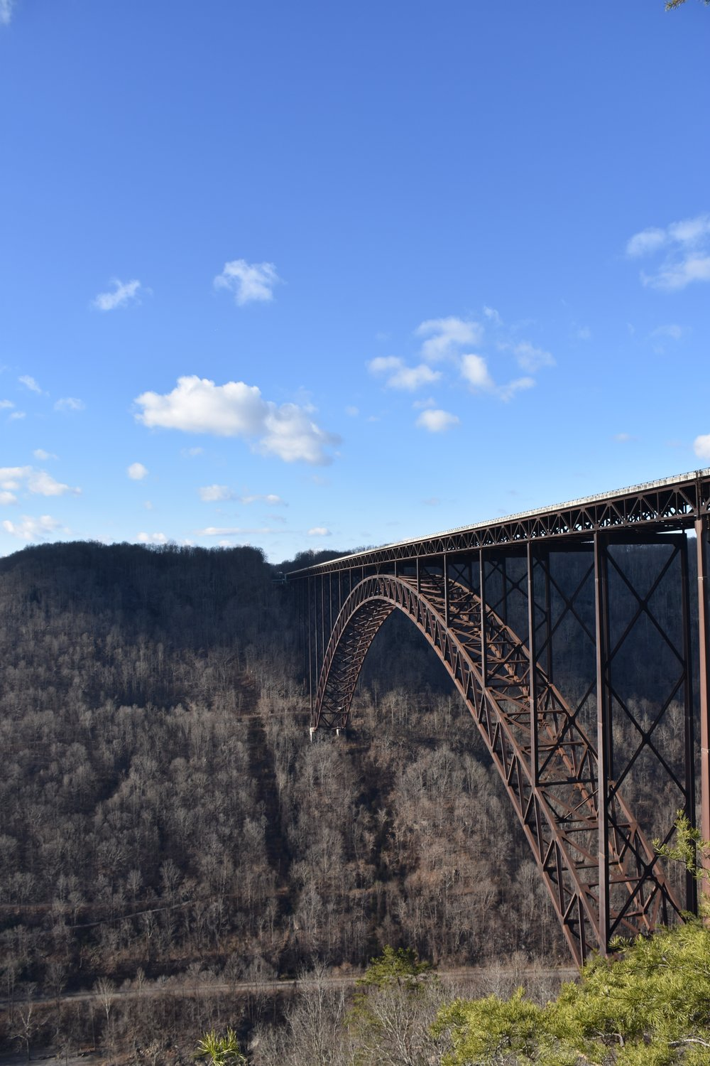 New River Gorge Bridge, December 2015.