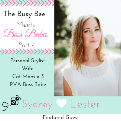 The Busy Bee Productivity Coach, Aug. 31, 2017