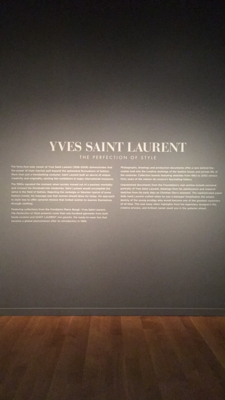 YSL VMFA chic stripes