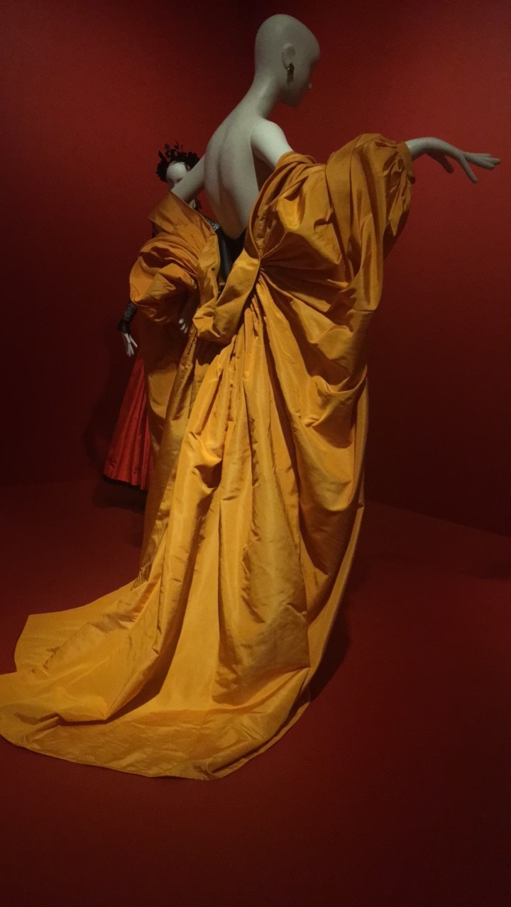 yves saint laurent yellow cape