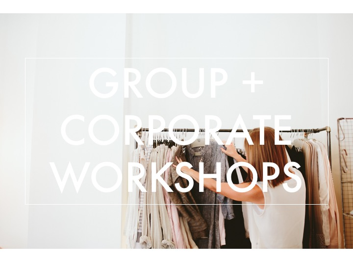 group corporate style workshops