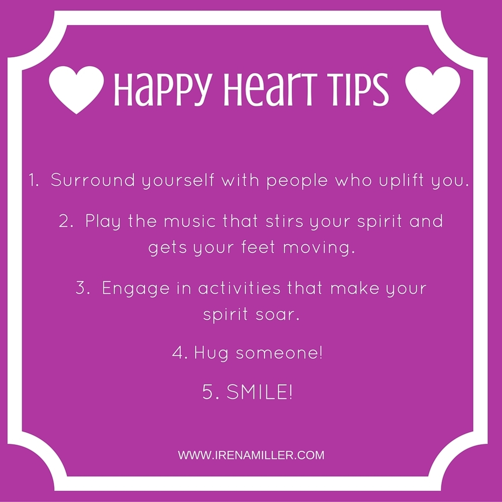 happy heart tips