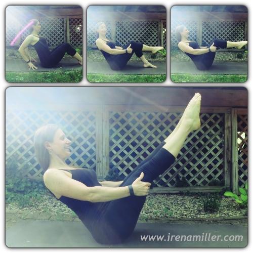 navasana boat irena yoga