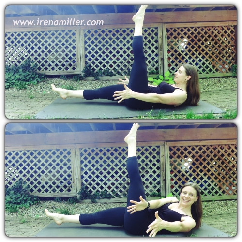 modified boat pose yoga irena