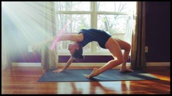 irena yoga sun ray