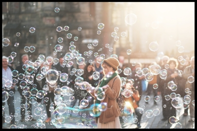 bubbles irena yoga