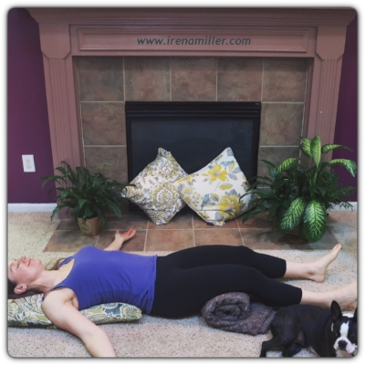 irena restorative yoga