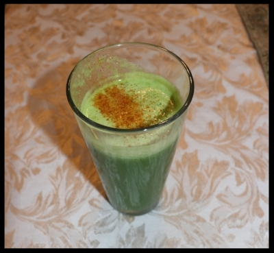 Green Juice Recipe that will help you feel energetic and light! www.irenamiller.com