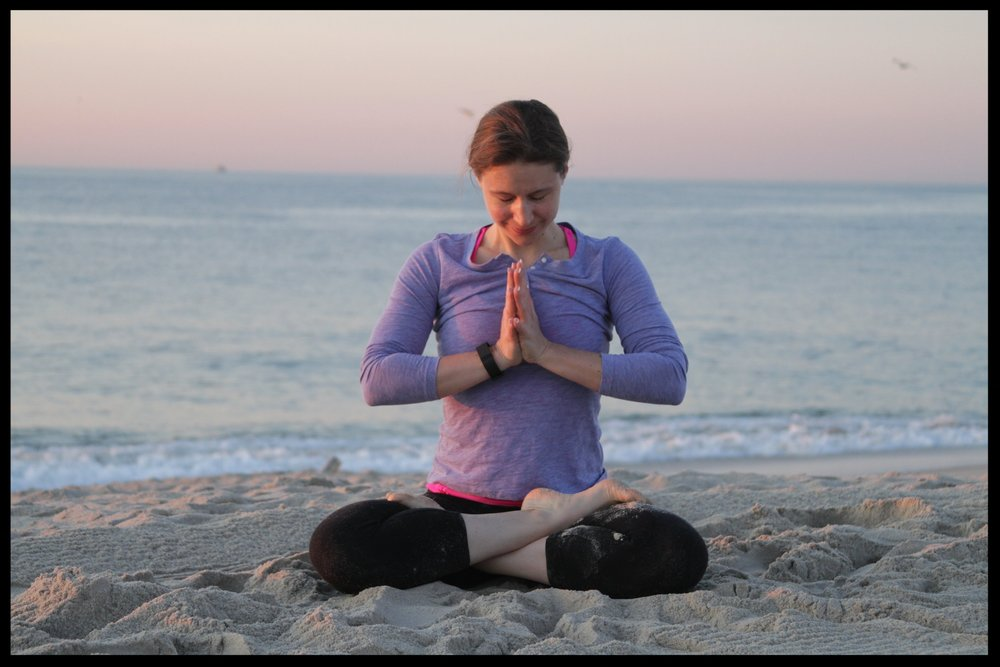 Get calm in 5 minutes with this breathing and visualization audio. bitly.com/Getcalm Yoga with Irena
